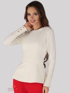 Блуза ANUSHKA by Anna Pavlova, цвет молочный