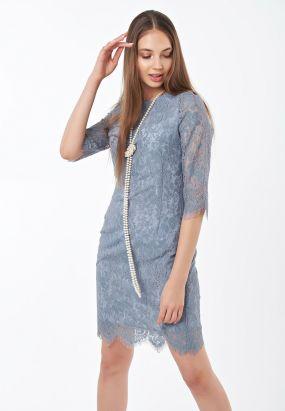 Платье из нежного качественного гипюра