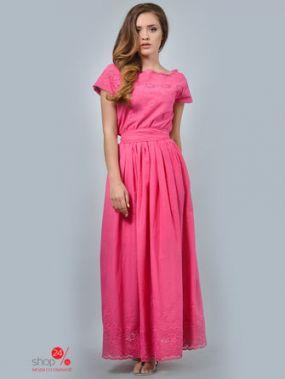 Платье LILA KASS, цвет розовый