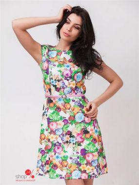 Платье Molegi, цвет мультиколор