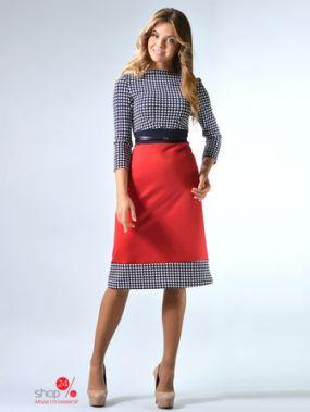 Платье LILA KASS, цвет красный