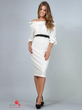 Платье LILA KASS, цвет молочный
