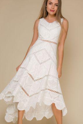 Платье 106928 White
