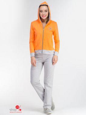 Костюм Soft & Secret, цвет оранжевый, серый