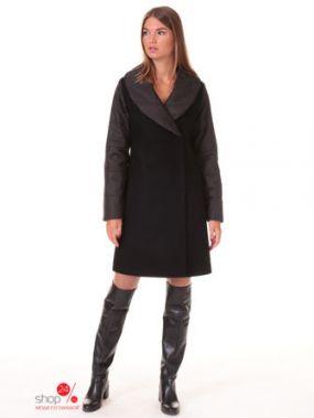 Пальто Style national, цвет черный, коричневый