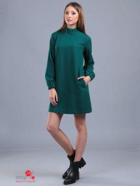 Платье ЭНСО, цвет зеленый