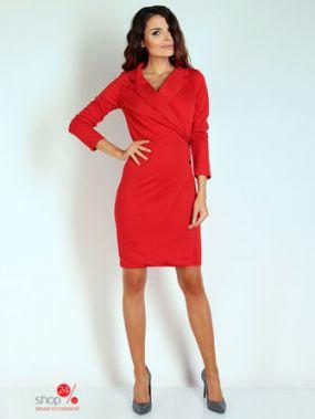 Платье NAOKO, цвет красный