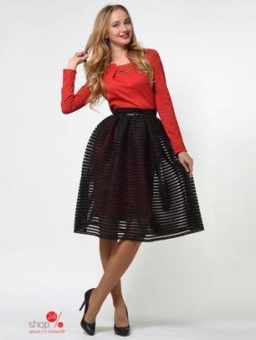 Платье Lemon, цвет красный, черный