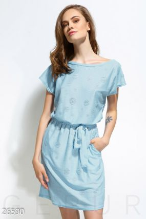 Комфортное пляжное платье