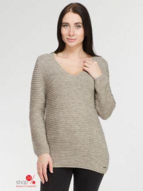 Пуловер Patrizia Pepe, цвет бежевый