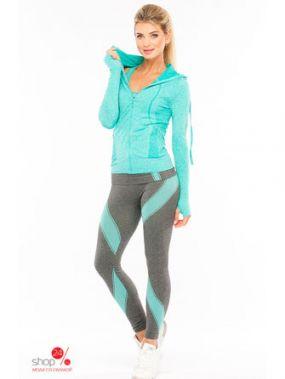 Толстовка спортивная PROFIT, цвет бирюзовый