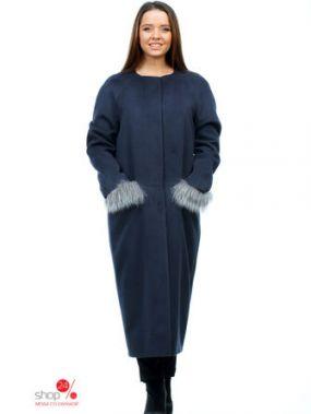 Пальто MiLiLook, цвет синий