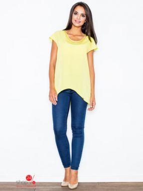 Туника Figl, цвет желтый