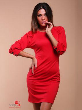 Платье KarmeN, цвет красный