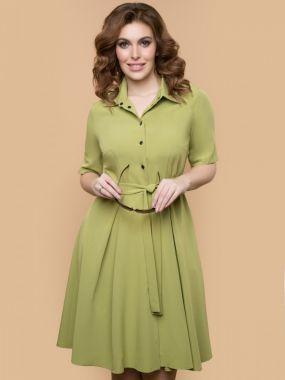 Платье итальянка (олива)