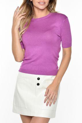 Фиолетовый джемпер