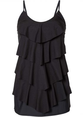 Купальник-платье, моделирующий фигуру
