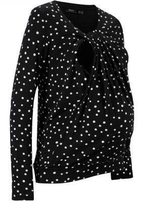 Мода для беременных: футболка с вырезом для удобного кормления