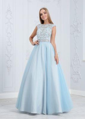 Атласное платье MC0116BY1