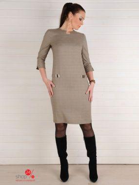 Платье MONOcollection, цвет бежевый