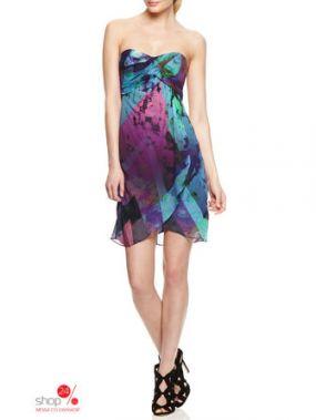 Платье Nicole Miller, цвет мультиколор