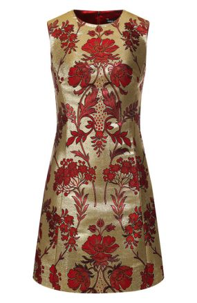 Приталенное мини-платье Dolce & Gabbana