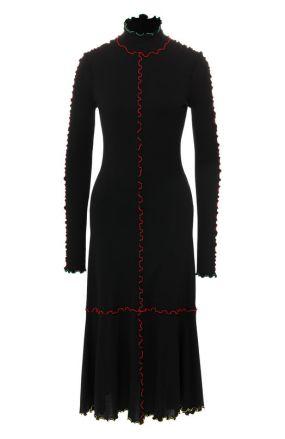 Платье-миди из вискозы Proenza Schouler