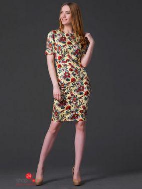 Платье MariKo, цвет желтый