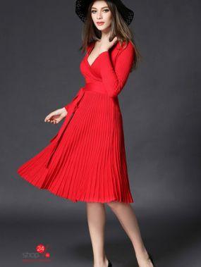 Платье ALDI, цвет красный