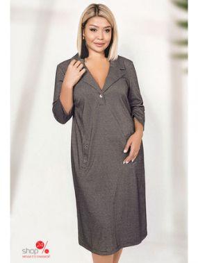 Платье Irina Foksy, цвет темно-серый