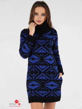 Туника ANUSHKA by Anna Pavlova, цвет черный, синий