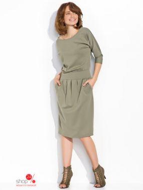 Платье Numinou, цвет оливковый