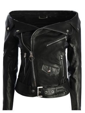 Куртка с открытыми плечами