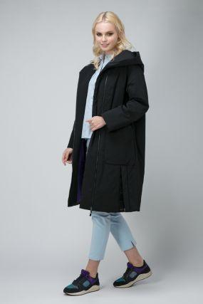 Стильное женское пальто на синтепоне