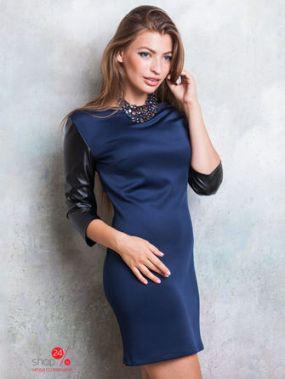 Платье Lavana Fashion, цвет темно-синий