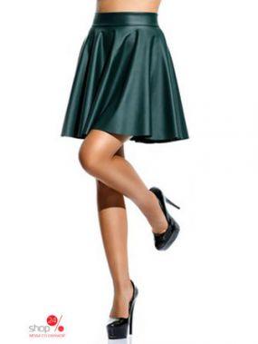 Юбка LA Fashion, цвет зеленый