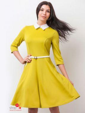 Платье Molegi, цвет желтый