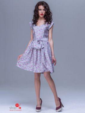 Платье Jet, цвет серый