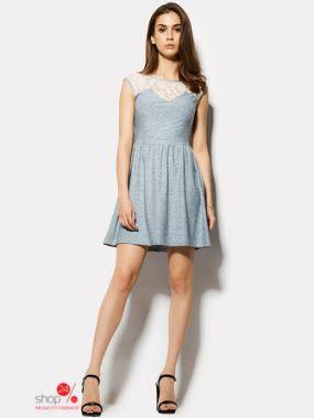 Платье Cardo, цвет голубой