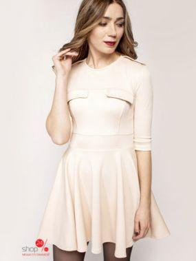 Платье Lavana Fashion, цвет молочный