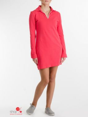 Платье BORODINA KSENIA, цвет коралловый