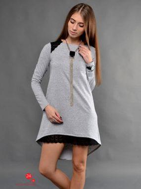 Платье TessDress, цвет светло-серый