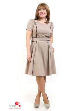 Платье LibeAmore, цвет бежевый