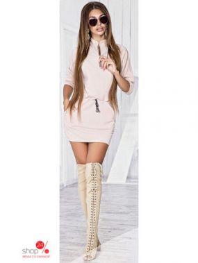 Платье ST-Style, цвет бежевый
