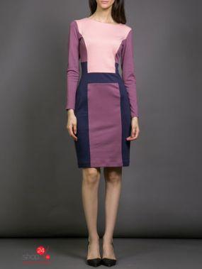 Платье La Via Estelar, цвет сиреневый, синий