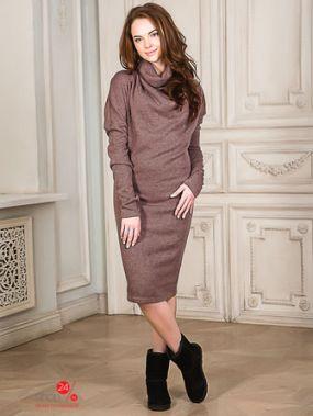 Платье ВИШНЯ, цвет коричневый