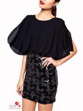 Платье FLORA LUNA, цвет черный