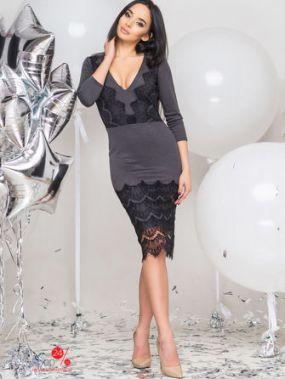 Платье 0101, цвет черный