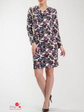 Платье Look At Fashion, цвет мультиколор