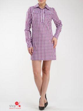 Платье Look At Fashion, цвет фиолетовый